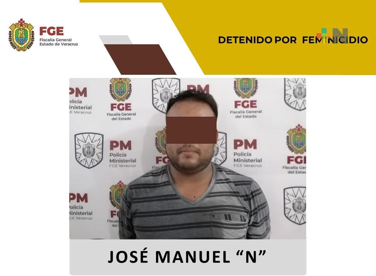 Policía Ministerial detiene a probable feminicida en Veracruz