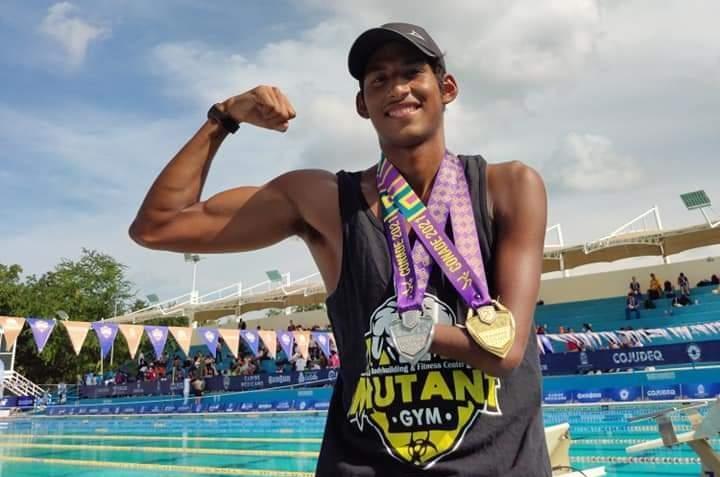 Antonio Zavala ganó tres oros y una plata en Juegos Paranacionales Conade