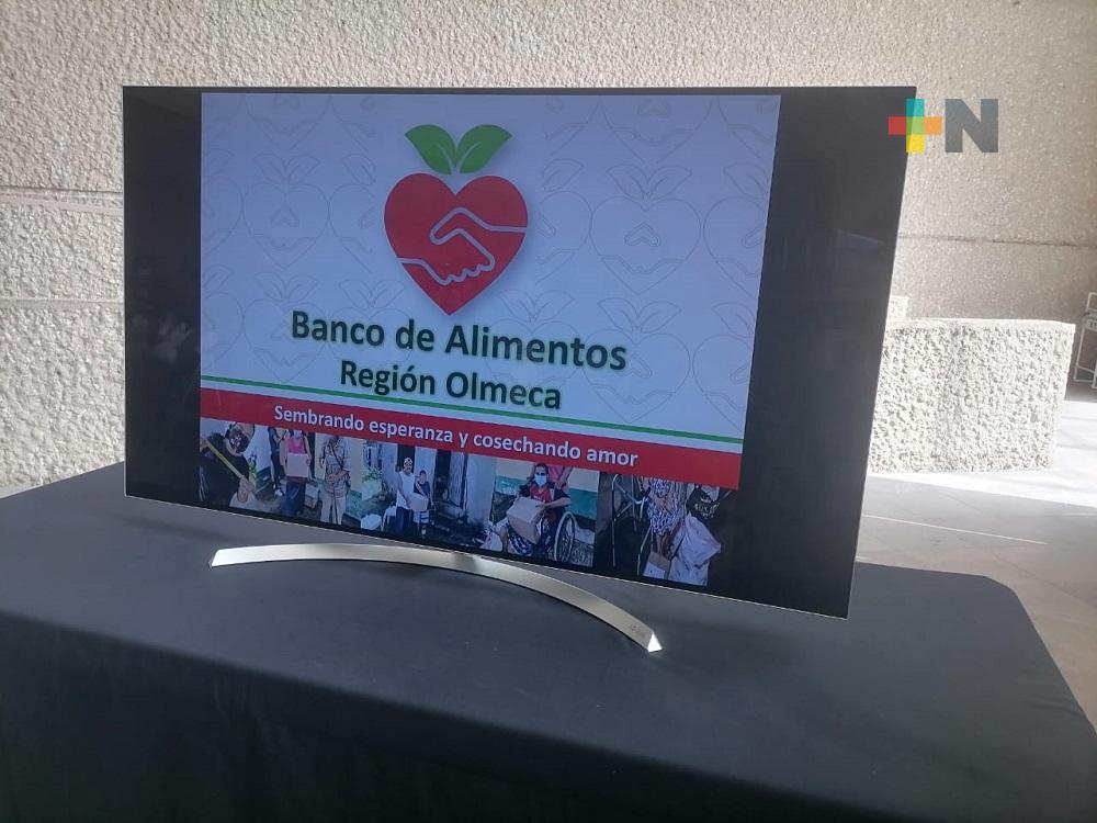 Banco de Alimentos Región Olmeca busca elevar padrón de beneficiarios