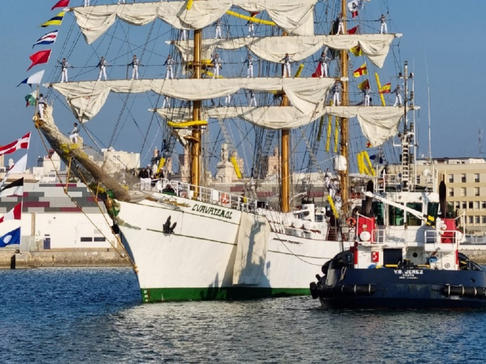 El buque escuela Cuauhtémoc será la figura estelar de México en la Expo 2020 Dubái