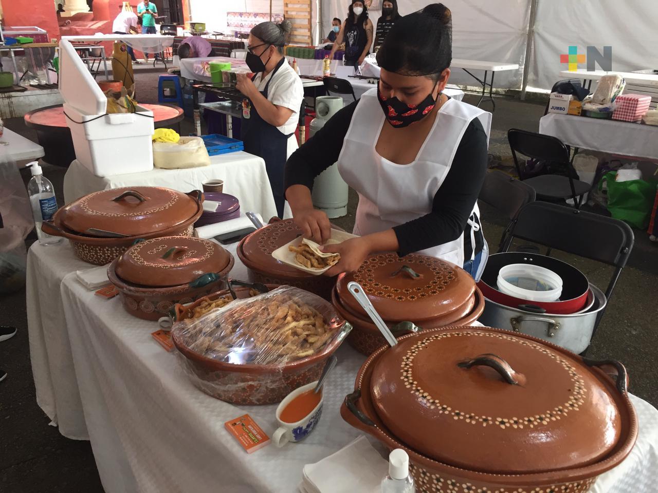 Feria del Taco y la Salsa en el barrio de Xallitic permanecerá hasta el domingo