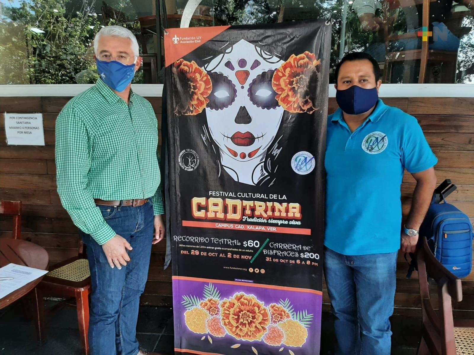 Preparan Festival Cultural de la CADtrina en la USBI de Xalapa