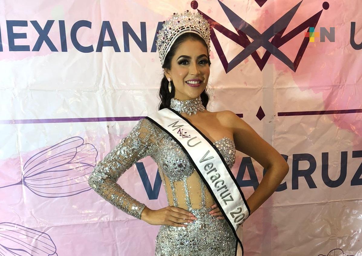 Samantha del Ángel representará a Veracruz en «Mexicana Universal 2021»