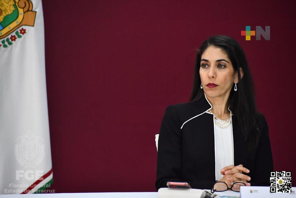FGE rinde informe en la Mesa de Coordinación para la Construcción de la Paz