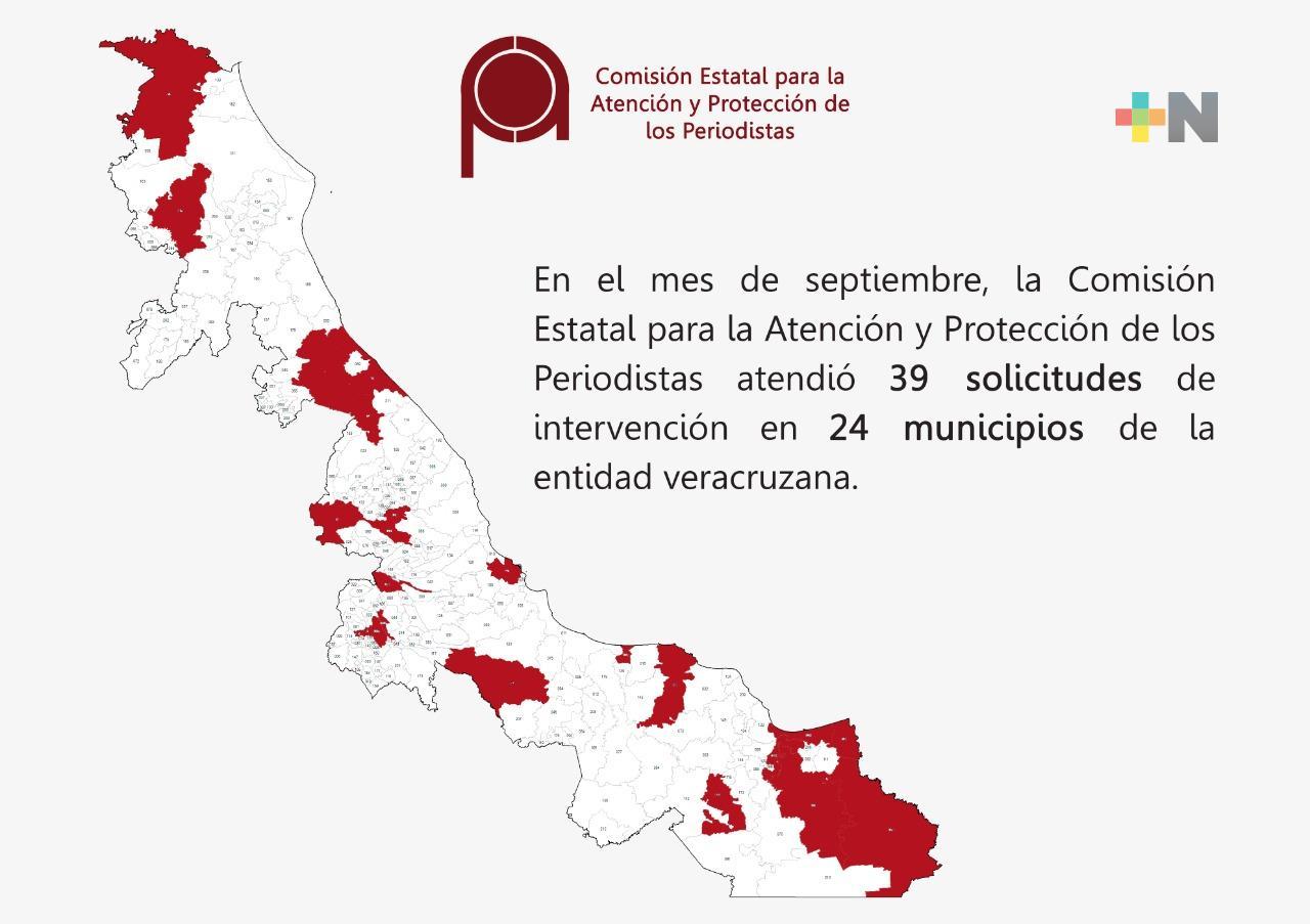 Atiende CEAPP 39 solicitudes de intervención durante septiembre