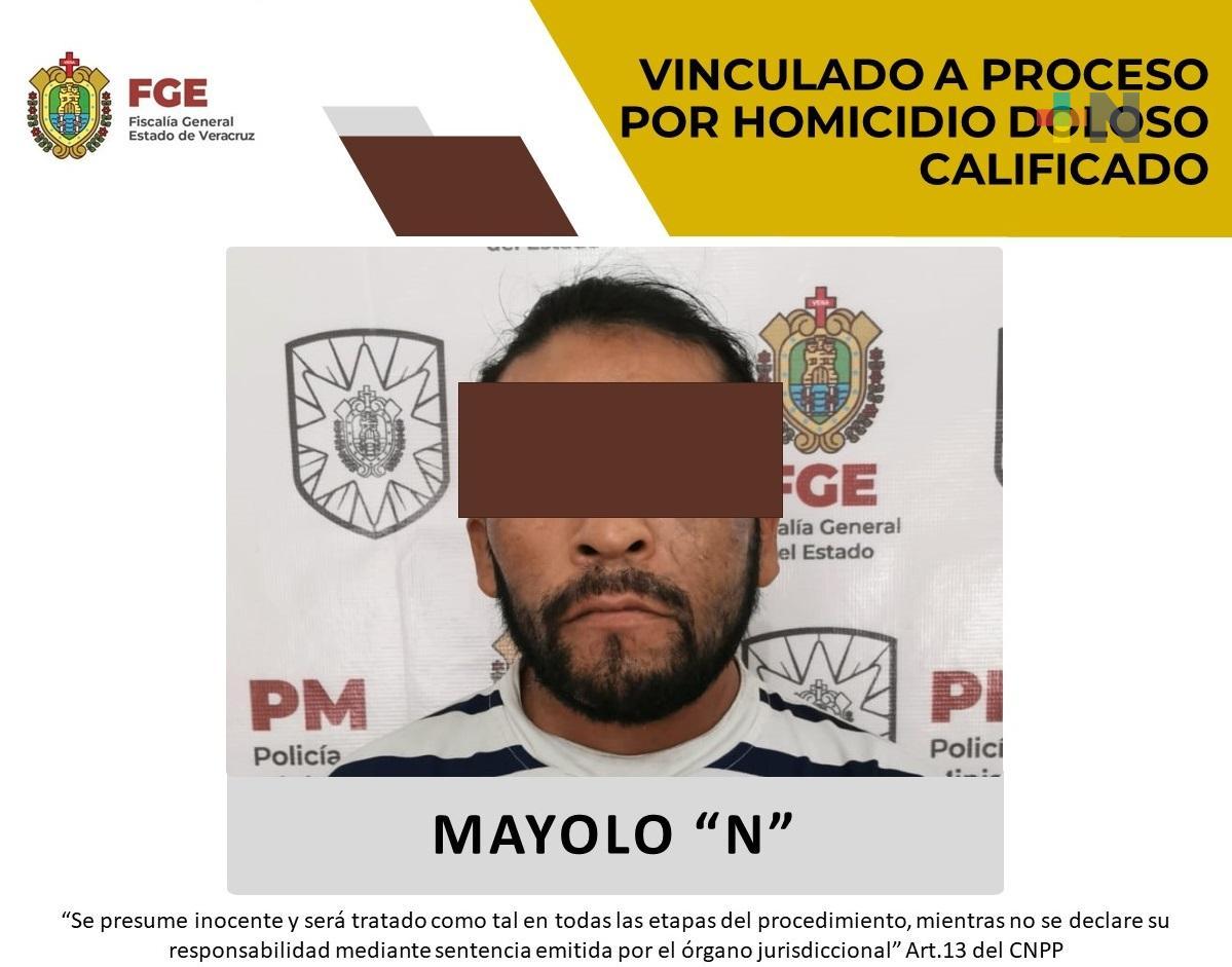 Fiscalía Regional Coatzacoalcos obtiene vinculación a proceso contra probable homicida