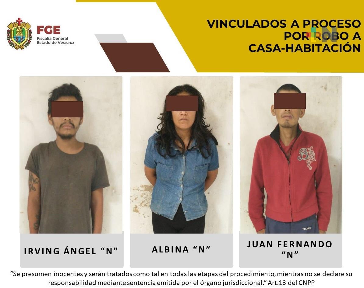 En Coatepec, vinculan a proceso por robo a tres personas