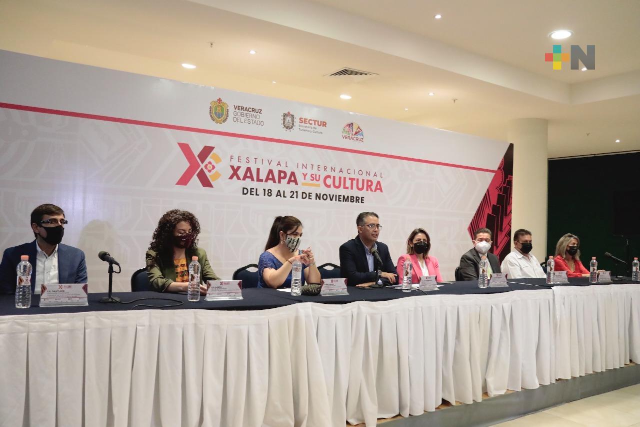 Apuesta SECTUR al detonar turismo y economía con Festival Internacional Xalapa y su Cultura