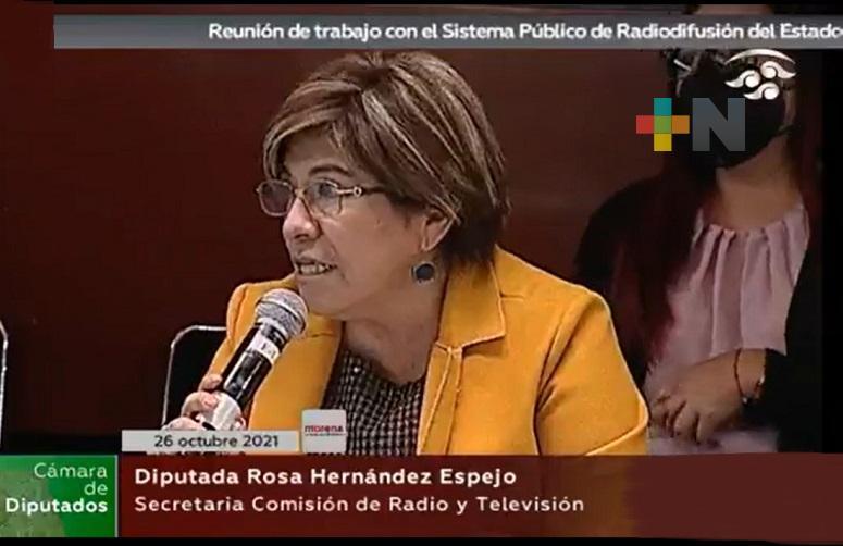 Los medios públicos deben brindar más contenido educativo, cultural, plural y gratuito: Rosa María Hernández