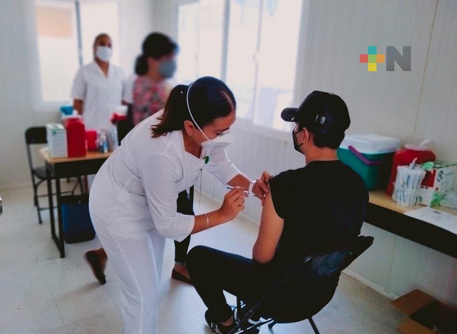 Inició vacunación contra Covid en menores con comorbilidades en Poza Rica, Veracruz, Minatitlán y Nanchital