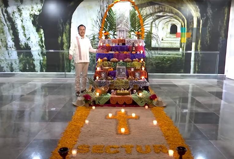 Gobernador invita a la población a disfrutar actividades y altares de Día de Muertos