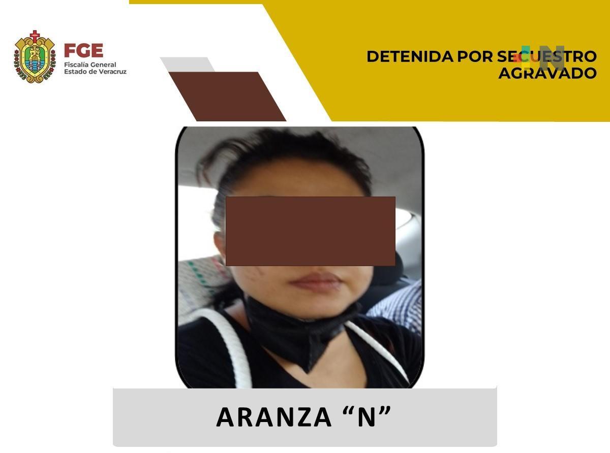 Detiene UECS a presunta secuestradora en la zona centro