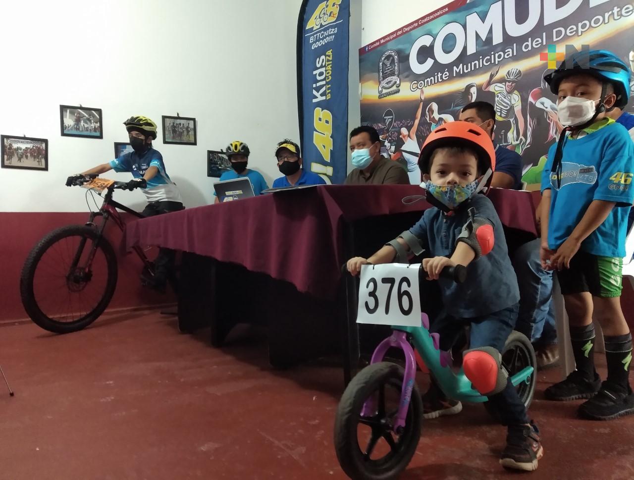 En Coatza, presentan Centro de Formación de Ciclismo