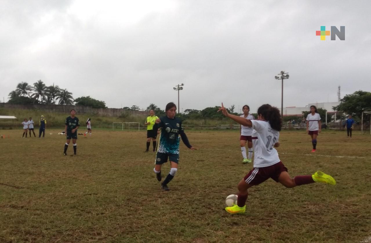 Coatza presente en el futbol de Juegos Nacionales Populares 2021