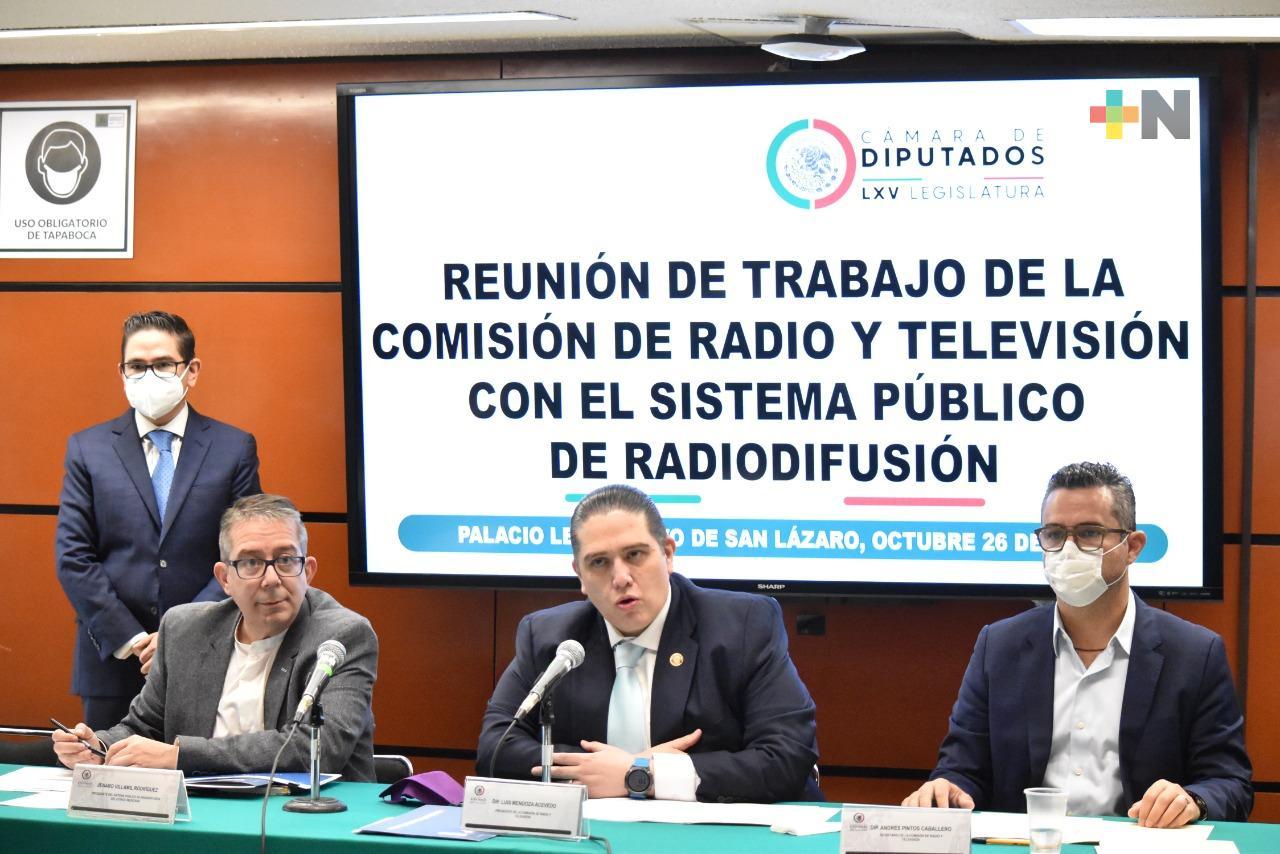 Comisión se reúne con titular del SPR para conocer su propuesta de presupuesto 2022