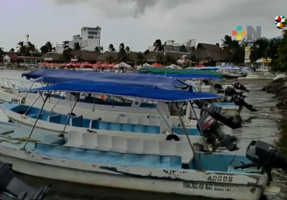 Cierran paso a navegación menor en puerto de Veracruz por FF6