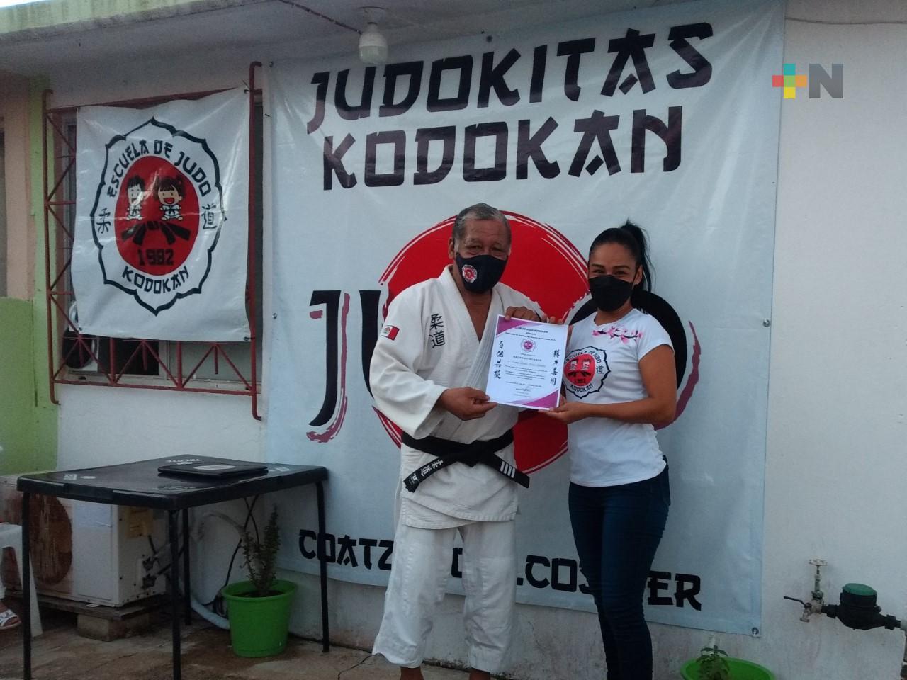 Judo Kudokan cumple 39 años de labor en sur de Veracruz