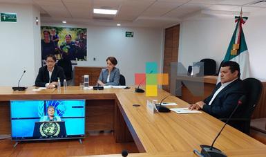 Secretaría de Bienestar propone a la Cepal, una visión humanista del desarrollo y medición distinta de pobreza