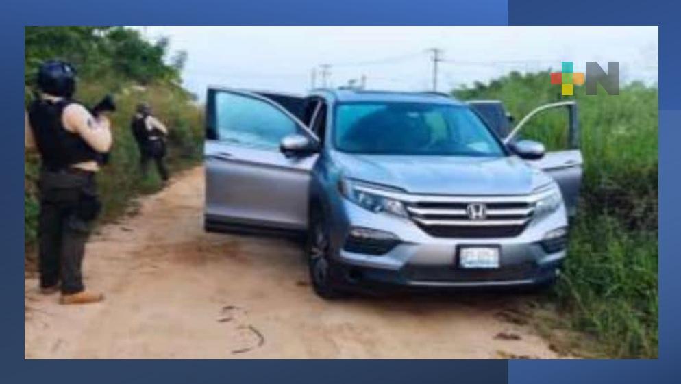 Recupera SSP diez unidades vehiculares en ocho municipios