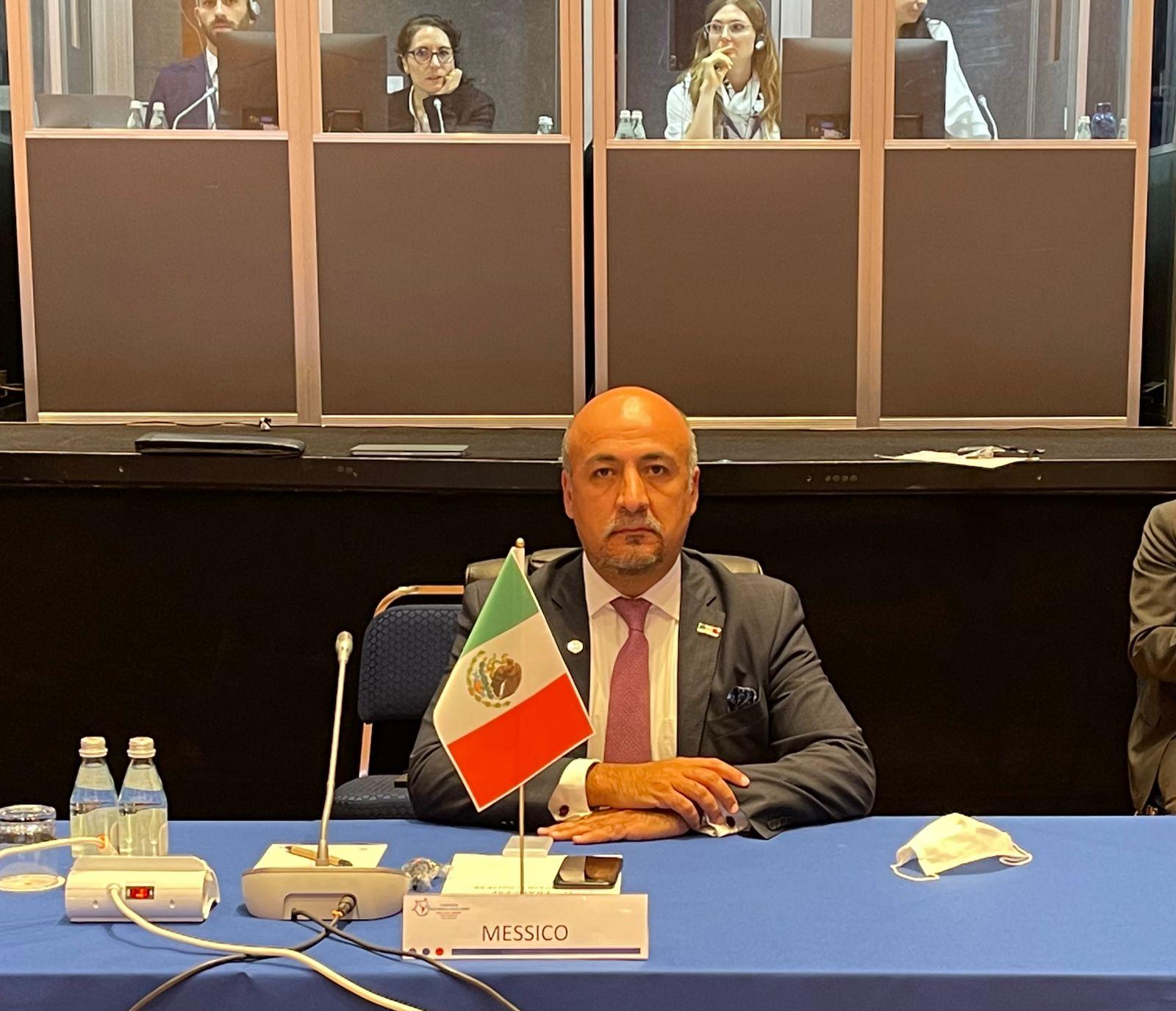 México participa en la X Conferencia Italia-América Latina y el Caribe