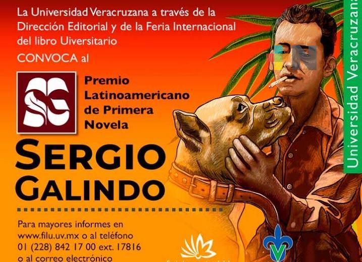 "UV convoca a Premio Latinoamericano de Primera Novela ""Sergio Galindo"""