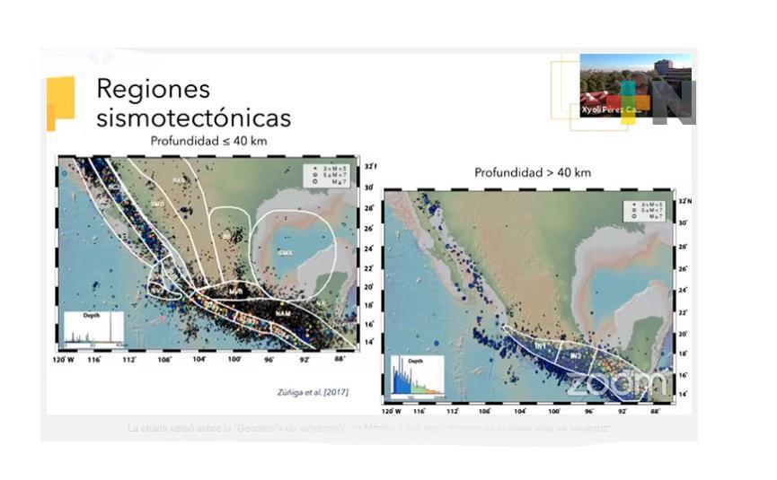 Actividad sísmica en Veracruz es provocada por subducción de placa de Cocos