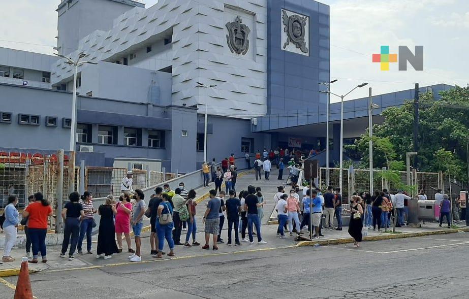 Continúa vacunación a menores con alguna comorbilidad en Veracruz puerto