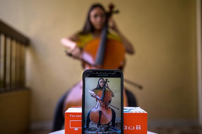Sagora, el software libre que permite a los músicos ensayar en medio de la cuarentena
