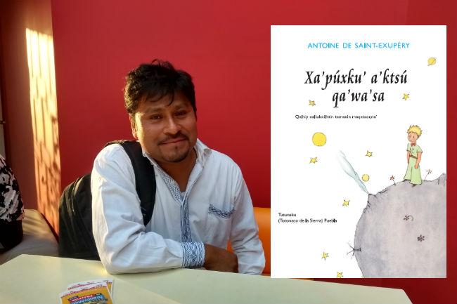 """Profesor de la Sierra Norte traduce """"El Principito"""" al totonaco"""