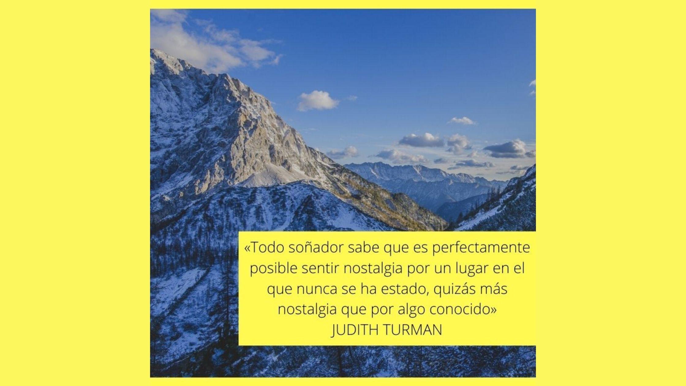 Cuando la montaña te llega al corazón…
