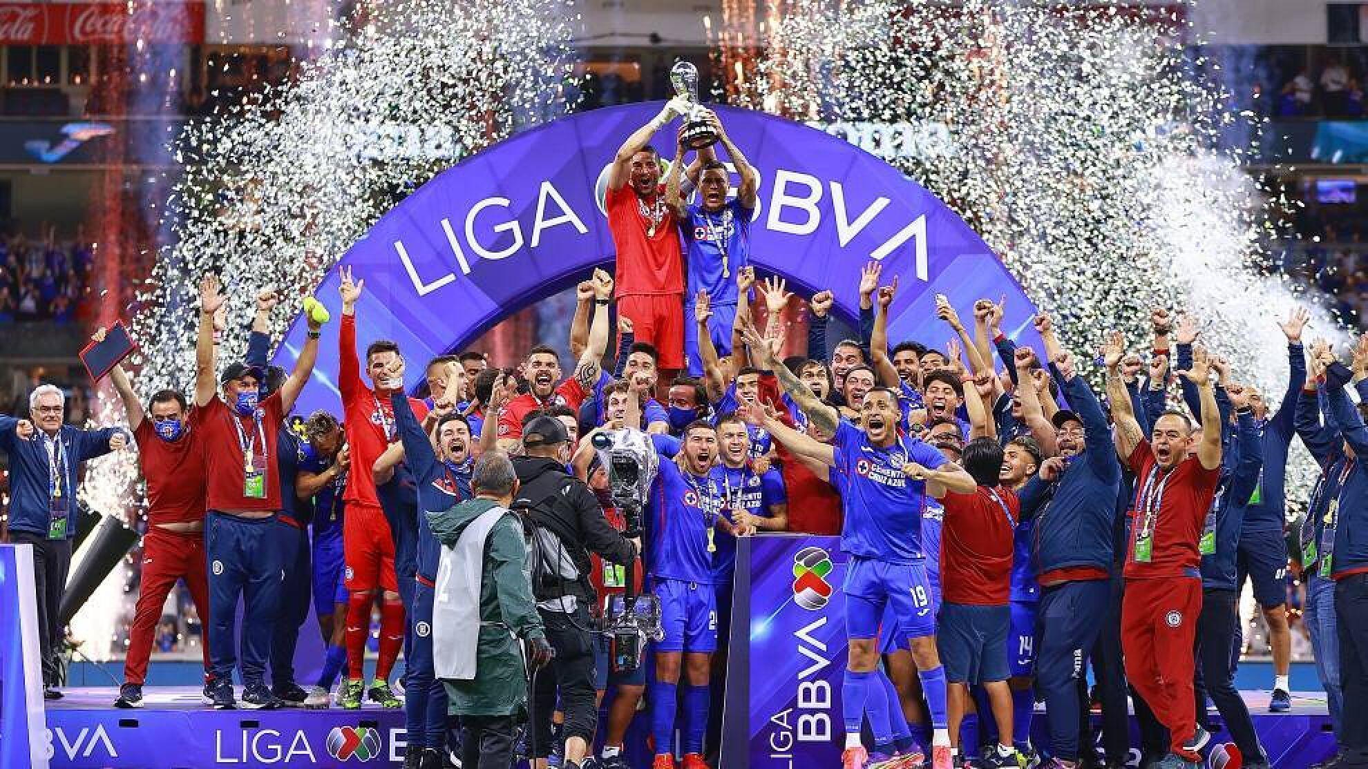 Cruz Azul Digno campeón de la Liga MX 2021