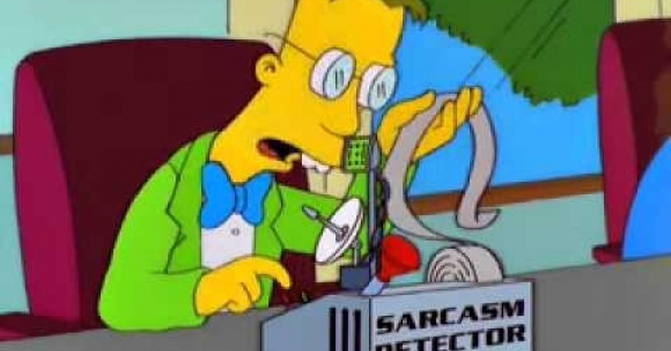 Los Simpson predicen máquina para detectar el sarcasmo