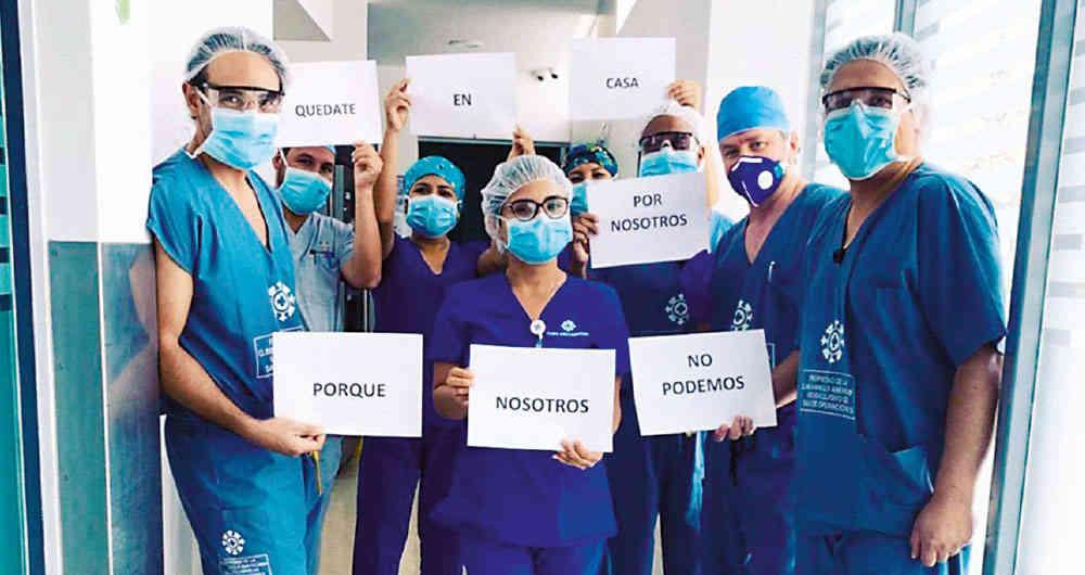 Los retos del personal de salud ante la pandemia de COVID-19