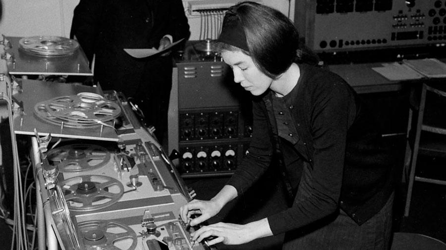 Delia Derbyshire, pionera de la música electrónica