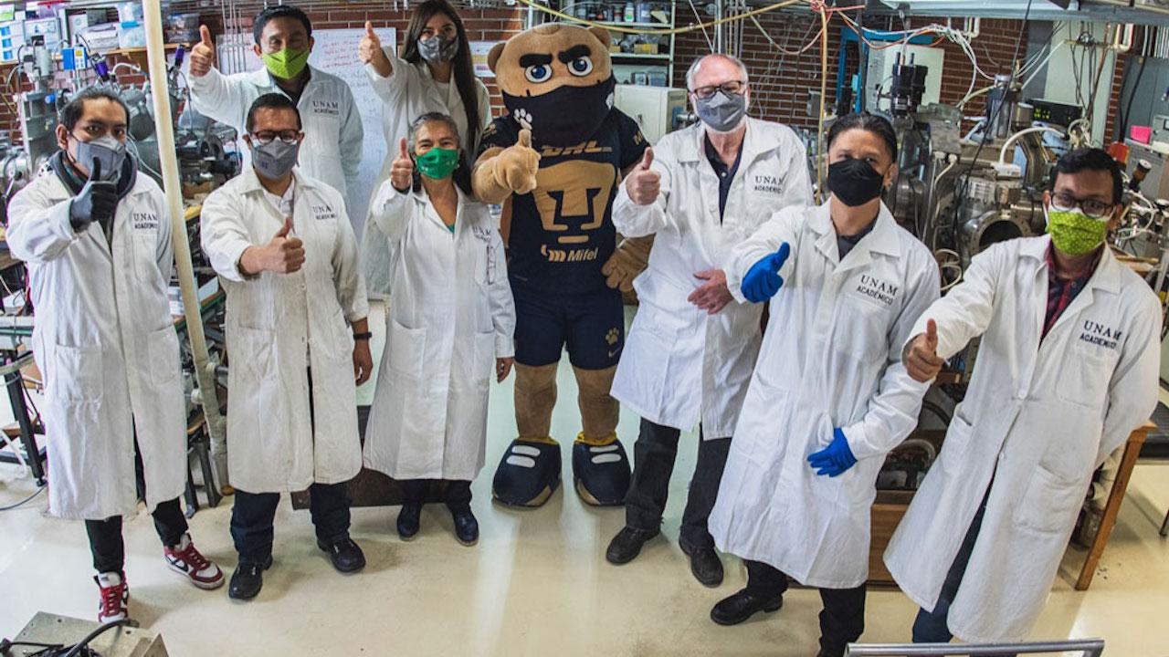 Expertos de la UNAM crean cubrebocas que inactiva al COVID