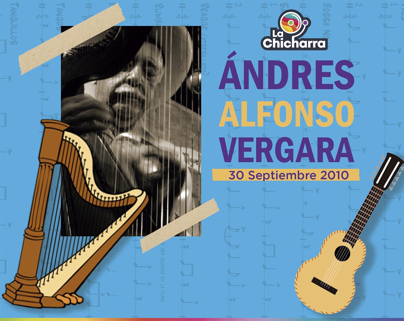 Andrés Alfonso Vergara, el músico del Son Jarocho